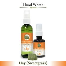 Hay (Sweetgrass) Hydrosol (Floral Water) 60ml / 100ml Pure And Natural