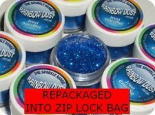 JEWEL OASIS BLUE Rainbow Dust Edible Cake Glitter repackaged SAME DAY POST*