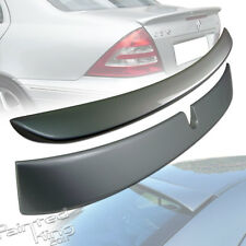 Painted For Mercedes BENZ W203 L-Type Roof Spoiler + A-Type Trunk Spoiler 01-07