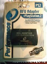 PLAYSTATION 2 RFU ADAPTER PS2 PS1 NEW PERFORMANCE SEALED