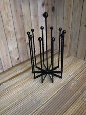 Wrought Iron Wellington Boot Rack Carousel 5 pair WS014