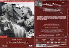 LA FONTANA DELLA VERGINE - DVD + eBOOK (NUOVO SIGILLATO) EDITORIALE
