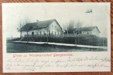 Georgswalde / Böhmen - Gruß aus Waidmannsheil, Haus - gel. 1904
