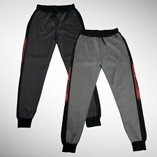 Mens Tracksuit Jogging Lounge Casual Bottoms Fashion Gym Joggers Slim Fit Skinny