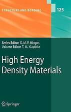 High Energy Density Materials (Structure and Bonding)-ExLibrary