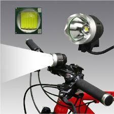 1x LED USB Vélo Phare Avant Lumière Lampe Eclairage Torche Eextérieur Camping