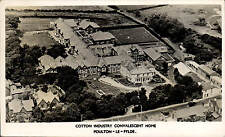 Poulton le Fylde. Cotton Industry Convalescent Home in Arrow Series. Aerial View