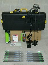 """Gorgeous, Loaded, BOWTECH Realm X Bow Package- Black  50 to 60 lb- 25 to 31"""""""