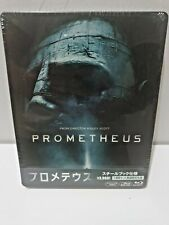 Prometheus Blu-Ray Japan Exclusive Limited Edition Steelbook Brand New & Sealed+