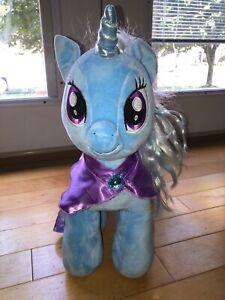 Build a Bear BAB My Little Pony Trixie Blue Plush w/ Star Cape