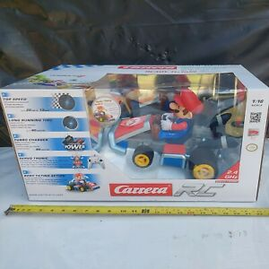 NIB Carrera RC Officially Licensed Mario Kart 7 Racer RC CAR 1: 16 Scale