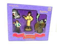 Fox 1997 Anastasia Vintage Action Figure Set of 4 Rare Figurine