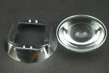 100W LED 44mm Lens Reflector Collimator + 50mm Base Aspheric design Glass lens