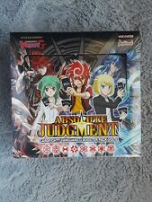 Cardfight!! Vanguard ABSOLUTE JUDGEMENT Factory Sealed Booster Box