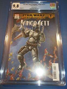 Star Wars Age of Republic Jango Fett #1 McKone Variant CGC 9.8 NM/M Gorgeous Gem