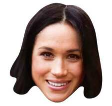 Meghan Markle Single 2D Card Party Face Mask - Royal Prince Harry's Fiancee