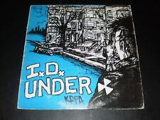 I. D. UNDER THE LORDS OF NOTHING UNDER DOG 1986 LP VG+