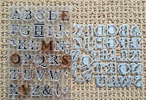 FLORAL ALPHABET Stamp Set with Coordinating Dies