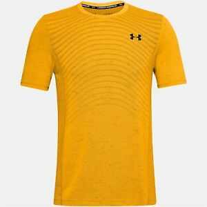 Under Armour Seamless Wave Short Sleeve T Shirt Mens Gents Performance Tee Top