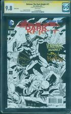 Batman Dark Knight 21 CGC SS 9.8 Ethan Van Sciver Signed Sketch Variant Top 1