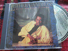 Luther Vandross ‎– Give Me The Reason Epic ‎– 450134 2 UK CD Album