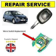 Renault Clio 1 Button Remote Key Fob Repair Service   * Trusted Repairs *