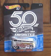 2018 Hot Wheels 50th Favorites Volkswagen T1 Drag Bus (Real Riders)