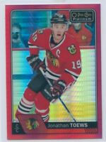 16/17 O-PEE-CHEE OPC PLATINUM RED PRISM JONATHAN TOEWS 133/199 BLACKHAWKS *51078