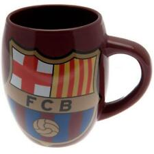 BARCELONA FC BIG CREST CERAMIC TEA TUB MUG - OFFICIAL GIFT