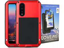 LOVE MEI Powerful | Etui Pancerne, Case, Armor + Tempered Glass | Huawei P20 Pro