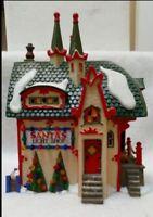 Department 56 North Pole Series Santa's Light Shop New In Box!