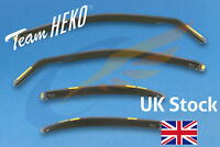 FORD MONDEO mk3 2001-2007 Hatchback Saloon 4-pc Wind Deflectors HEKO Tinted