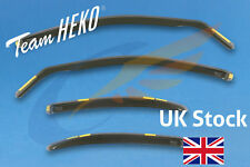 FORD MONDEO mk3 2001-2007 Hatchback Saloon 4-pc Wind Deflectors HEKO Tinted