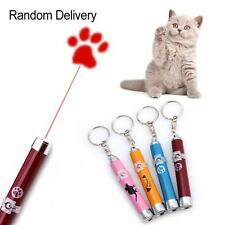 Pet Dog Cat Interactive Toy Led Laser Pointer Pen Beam Lazer Mouse Animation LN