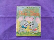 """Livre Ancien """"L'Aventure De Pixie et Dixie"""" Un petit Livre D'Argent"""" 1966"""