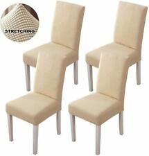 Stretch Dining Room Chair Slipcovers Sets Removable Washable Dining Chair Covers