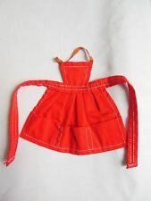 Vintage Barbie 1962-1964 Fashion Pak Red Apron Tagged