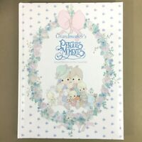 Grandmother's Precious Moments memory keepsake write in prompted journal grandma