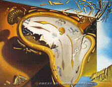 """Soft Watch at the Moment of Explosion"",  Dali, Reproduction in Oil, 44""x32"""