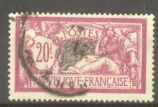 "FRANCE STAMP TIMBRE N° 208 "" TYPE MERSON 20F 1926 "" OBLITERE TTB"
