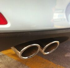 VW Beetle 2012 2013 2014 2015 2016 2017 Chrome Exhaust Muffler Tip Pipe