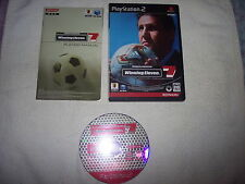 WINNING ELEVEN 7, SONY PLAYSTATION 2/PLAY2/PS2, GIAPPONESE/JAP/IMPORT/JP, KONAMI