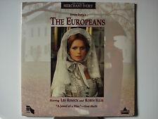 Europeans, The 1979 Laser Disc NEW Lee Remick - Robin Ellis - Wesley Addy n-Mint