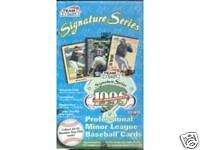 1998 Team Best Signature Series Baseball Hobby Card Box