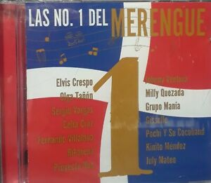 LAS NO.1 DEL MERENGUE/ CD.