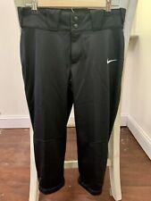 Para mujer Nike Diamond Invader 3//4 Softbol pantalón gris blanco rojo