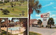 Sun City Center Florida~Inn~Golf Course~Swimming Pool~1982 Postcard