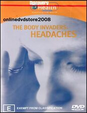 The BODY INVADERS - HEADACHES - MIGRAINES - Health DVD (NEW SEALED) Region 4