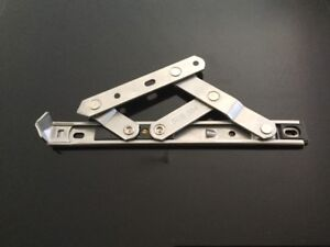 "Hinges Friction Stays 2PCS Stainless Steel 304 top Hung Window 12"" Length"
