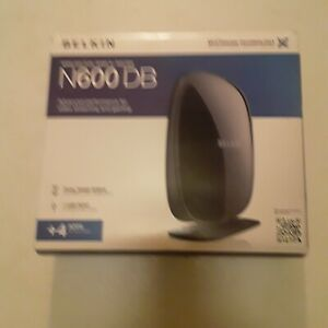 BELKIN ROUTER N600 DB MULTISTREAM TECHNOLOGY.  FOR VIDEO STREAMING AND GAMING.